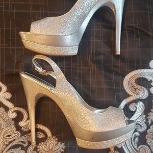 Bakers sparkly heels